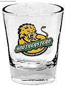 Southeastern Louisiana University Lions Collector's Glass