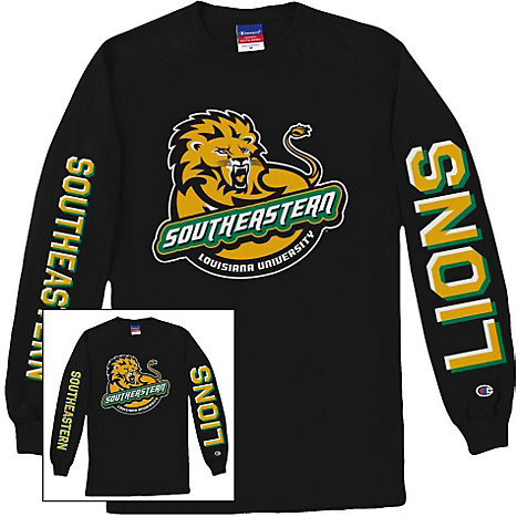 Product: Southeastern Louisiana University Lions Long Sleeve T-Shirt