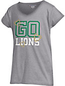 Southeastern Louisiana University Girls' V-Neck Powder Puff T-Shirt