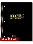 University of Illinois at Springfield Notebook 100-Sheet