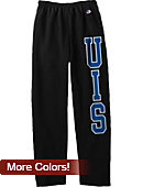 University of Illinois at Springfield Open Bottom Sweatpants
