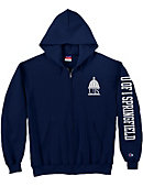 University of Illinois at Springfield Full-Zip Hooded Sweatshirt