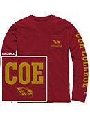 Coe College Kohawks Long Sleeve T-Shirt