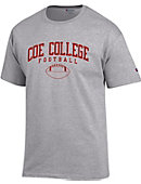Coe College Football T-Shirt