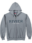 Rivier University Full-Zip Hooded Sweatshirt
