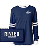 Rivier University Raiders Women's Ra Ra Long Sleeve T-Shirt
