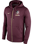 Nike Florida State University Sideline Full-Zip Fleece Sweatshirt