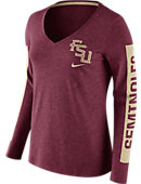 Nike Florida State University Women's Tri-Blend Long Sleeve T-Shirt