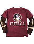 Florida State University Football Boy's Long Sleeve T-Shirt