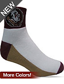 Florida State University 1/4 Socks