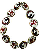 Florida State University Seminoles Dome Bracelet
