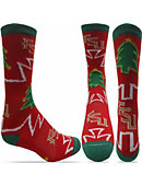 Florida State University Christmas Tree Crew Socks