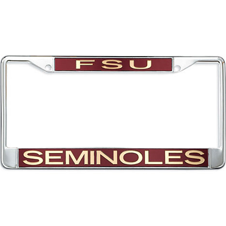 fsu seminoles license plate frame