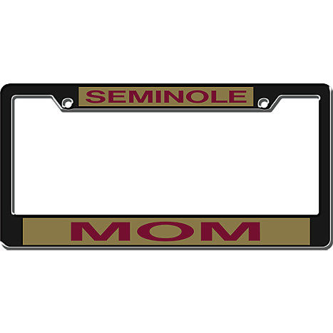 product florida state university mom license plate frame