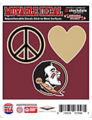 Florida State University Seminoles 5'' x 6'' Moveable Decal