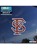 Florida State University Color Shock Decal