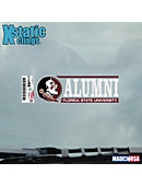 Florida State University Alumni Seminoles Cling Decal