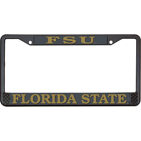 Product: FSU Florida State License Plate Frame