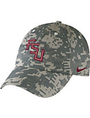 Nike Florida State University Army Camo Adjustable Cap