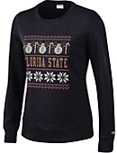 Florida State University Women's Crewneck Ugly Sweater Sweatshirt