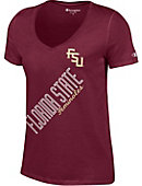 Florida State University Seminoles Women's V-Neck T-Shirt