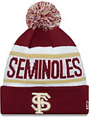 Florida State University Seminoles Biggest Fan Knit Pom Hat
