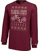 Florida State University Youth Christmas Ugly Sweater Long Sleeve T-Shirt