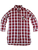 Florida State University Seminoles Women's Flannel Night Shirt