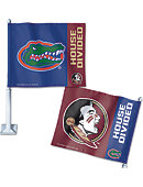 Florida State University House Divided' Car Flag