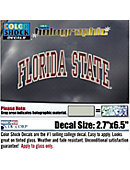 Florida State University Decal Hologram Stand