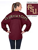 Florida State University Women's Prep Print Long Sleeve T-Shirt