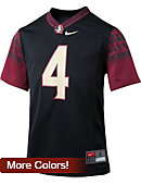Florida State University Youth #4 Football Replica Jersey
