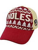 Florida State University Seminoles Christmas Cap
