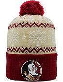 Florida State University Seminoles Christmas Cuffed Pom Hat