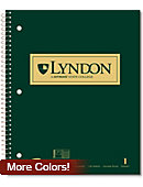 Lyndon State College Notebook 100-Sheet