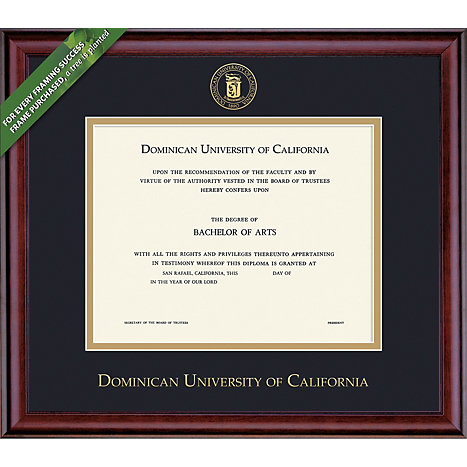 Product: Dominican University of California 8x10  Diploma Frame