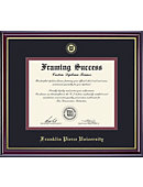 Franklin Pierce University 8.5'' x 11'' Windsor Diploma Frame
