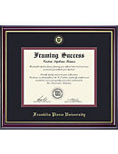 Franklin Pierce University 11'' x 14'' Windsor Diploma Frame
