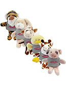 Franklin Pierce University Plush Magnet