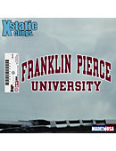 Franklin Pierce University Cling Decal