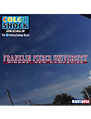 Franklin Pierce University Location Strip Decal