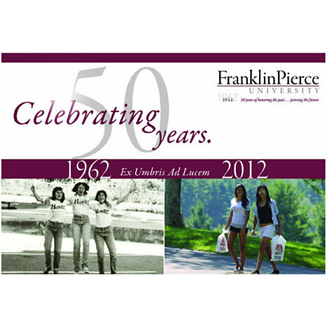 Product: Franklin Pierce University 'Celebrating 50 Years' Postcard