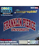 Franklin Pierce University Decal Hologram Stand
