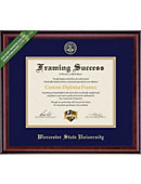 Worcester State University 8'' x 10'' Classic Diploma Frame