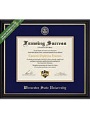 Worcester State University Diploma Frame