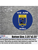Worcester State University Lancers 'We Are' 2.25' Button