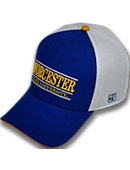 Worcester State University Stretch Fitted Micro Mesh Cap