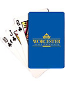 Worcester State University Playing Cards