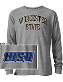 Worcester State University Long Sleeve Victory Falls T-Shirt