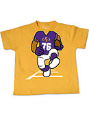 Prairie View A & M University Football Player Toddler T-Shirt
